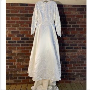 NWT Demetrios Long Sleeve Wedding Dress